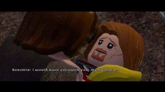 Boromir's death lego