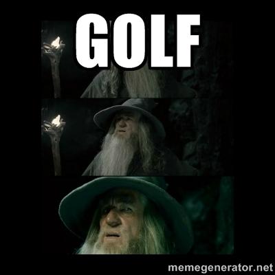 Gandalf golf